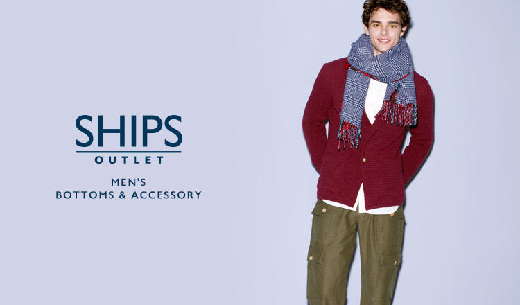 SHIPS OUTLET MEN'S BOTTOMS & ACCESSORY