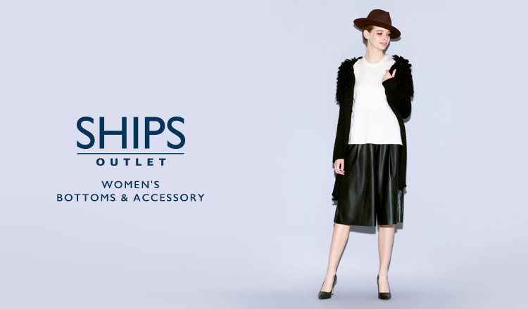 SHIPS OUTLET WOMEN'S BOTTOMS & ACCESSORY