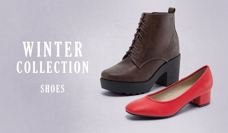 WINTER COLLECTION -SHOES-