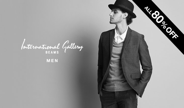 INTERNATIONAL GALLERY BEAMS MEN -ALL80%OFF-