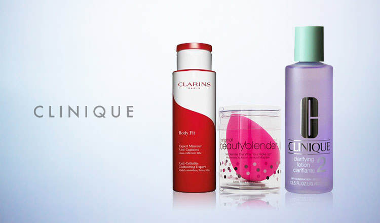 CLINIQUE/CLARINS and more