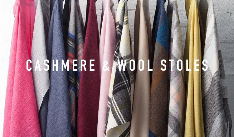 CASHMERE & WOOL STOLES