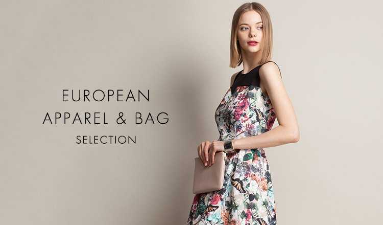 EUROPEAN APPAREL & BAG SELECTION