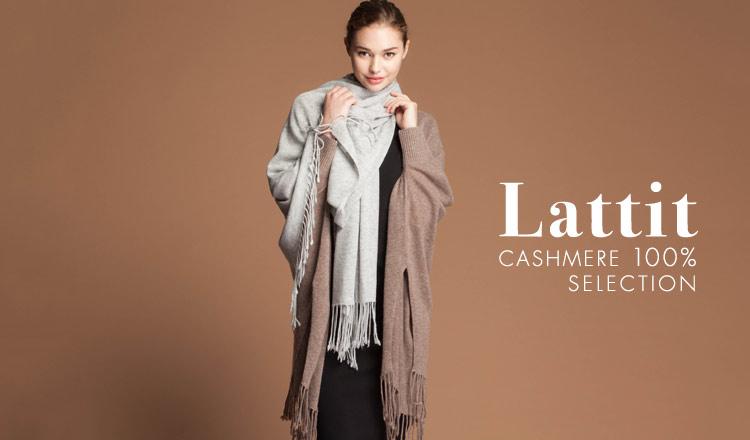 Lattit -CASHMERE 100% SELECTION-