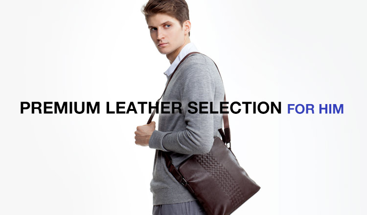 PREMIUM LEATHER SELECTION FOR HIM