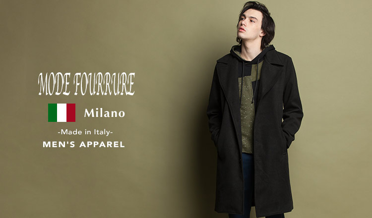 MEN'S MODE FOURRURE APPAREL SELECTION  -Made in Italy-