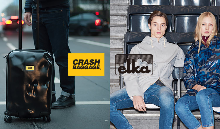 ELKA/CRASH BAGGAGE