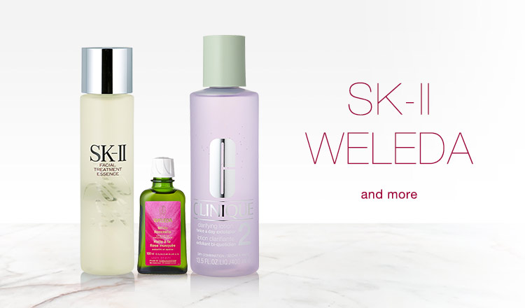 SK-II/WELEDA and more