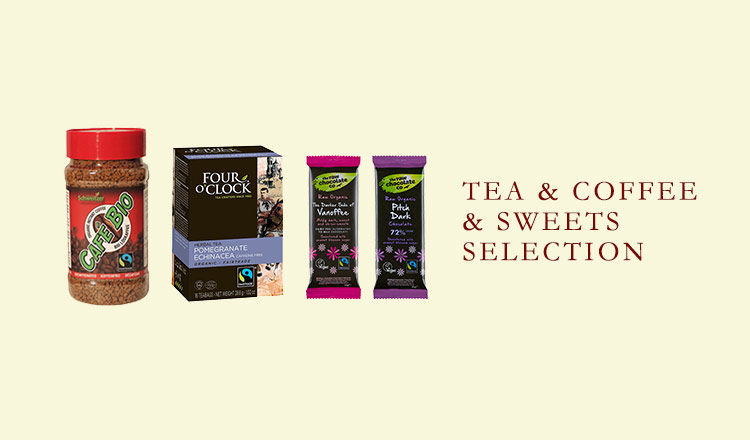 TEA&COFFEE&SWEETS SELECTION