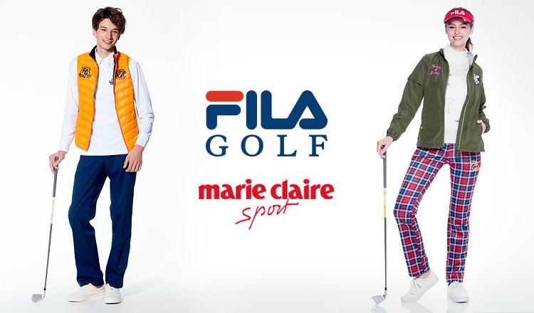 FILA GOLF/MARIE CLAIRE MEN WOMEN