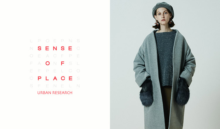 SENSE OF PLACE by URBAN RESEARCH WOMEN
