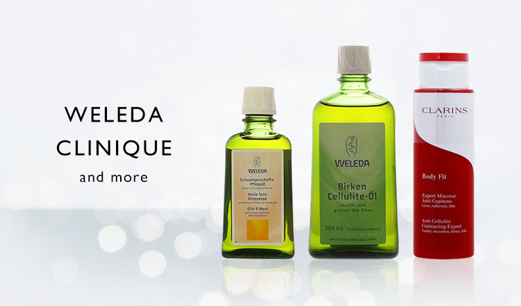 WELEDA/CLINIQUE and more