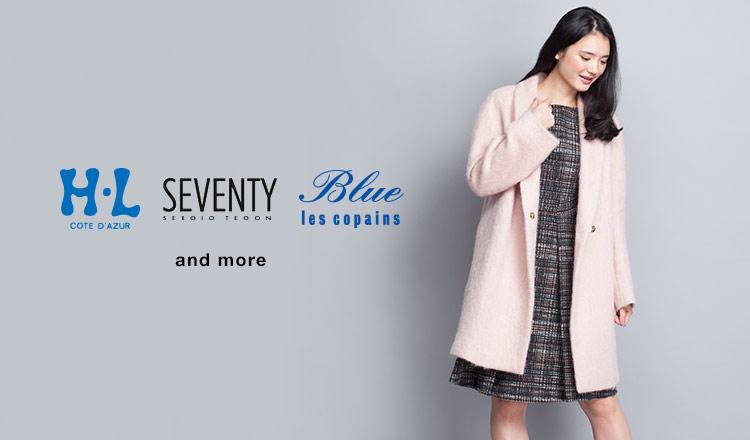 H・L / SEVENTY / Blue Les Copains and more