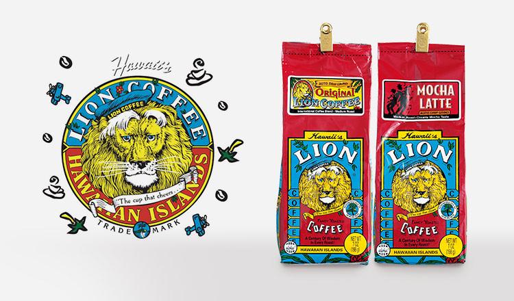 ハワイ生まれのフレーバーコーヒー - LION COFFEE -