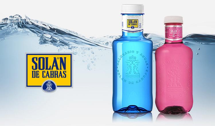 スペインのミネラルウォーター -SOLAN DE CABRAS-