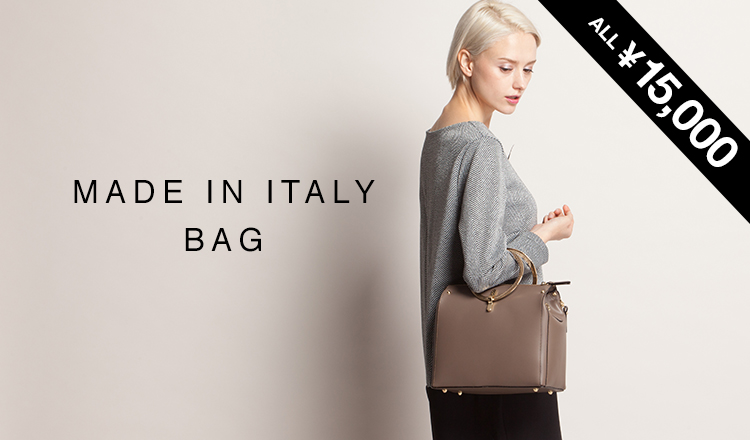 MADE IN ITALY BAG ALL¥15,000