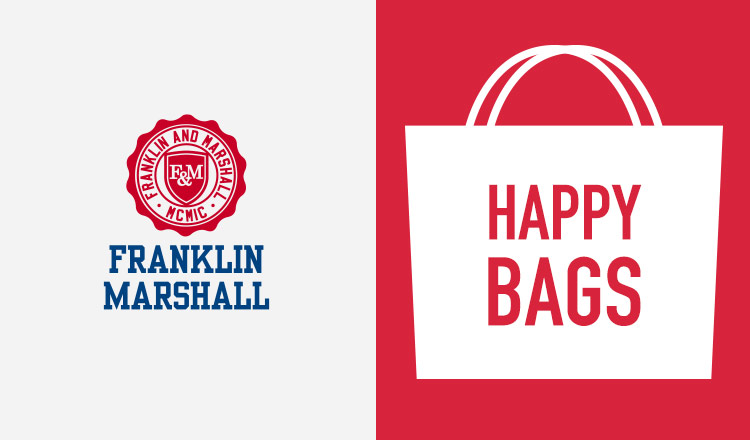 FRANKLIN MARSHALL -HAPPY BAG-