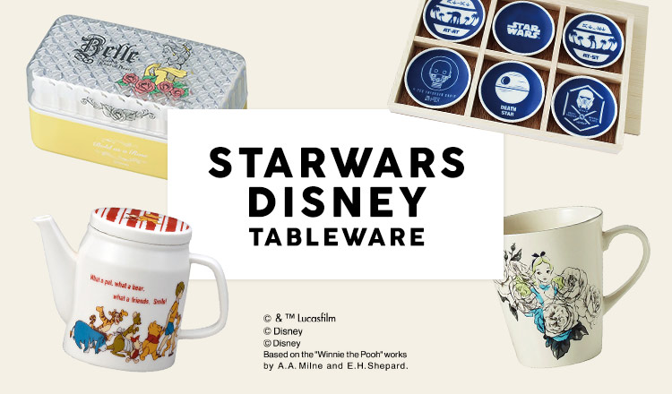 STARWARS/DISNEY TABLEWARE