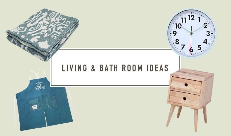 LIVING & BATH ROOM IDEAS