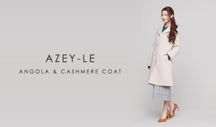 AZEY-LE   ANGOLA & CASHMERE COAT