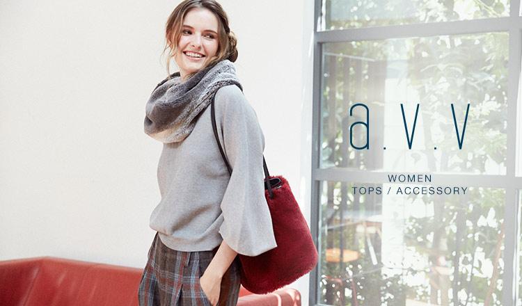 a.v.v Women -TOPS & ACCESSORY-