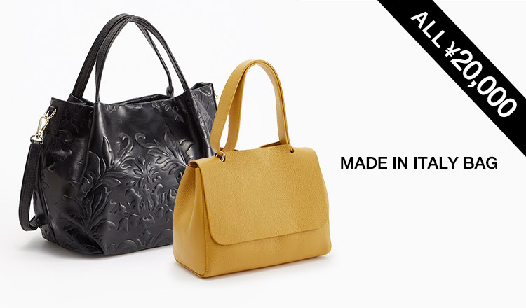 MADE IN ITALY BAG ALL¥20,000