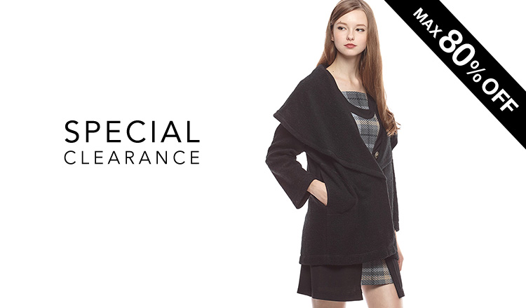 SPECIAL CLEARANCE-WINTER & SPRING SELECTION-