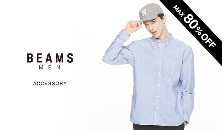BEAMS FINAL REDUCTIONS MEN -ACCESSORY-