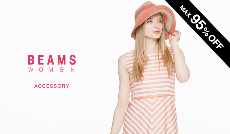 BEAMS FINAL REDUCTIONS WOMEN -ACCESSORY-