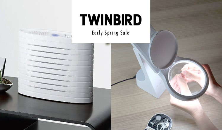 TWINBIRD-Early Spring Sale-