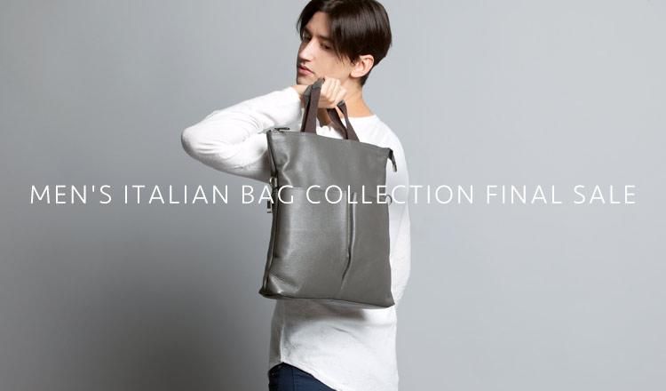 MEN'S ITALIAN BAG COLLECTION FINAL SALE