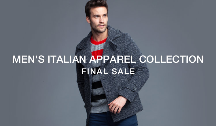 MEN'S ITALIAN APPAREL COLLECTION FINAL SALE