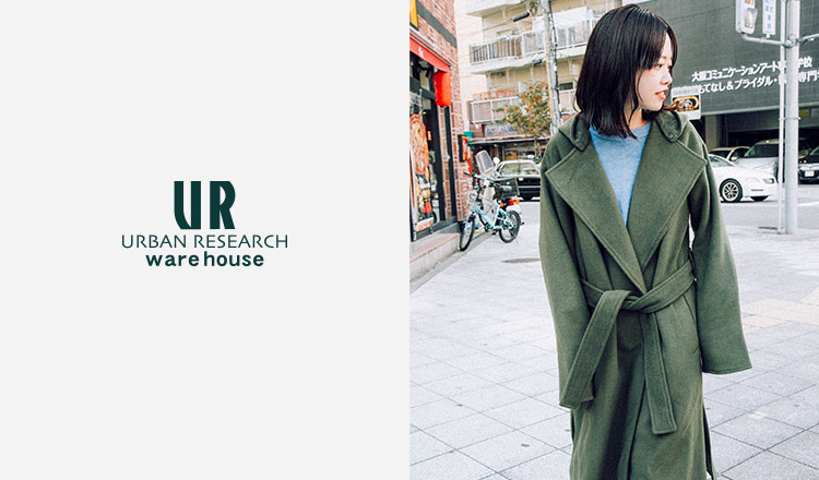 URBAN RESEARCH WAREHOUSE WOMEN OUTER