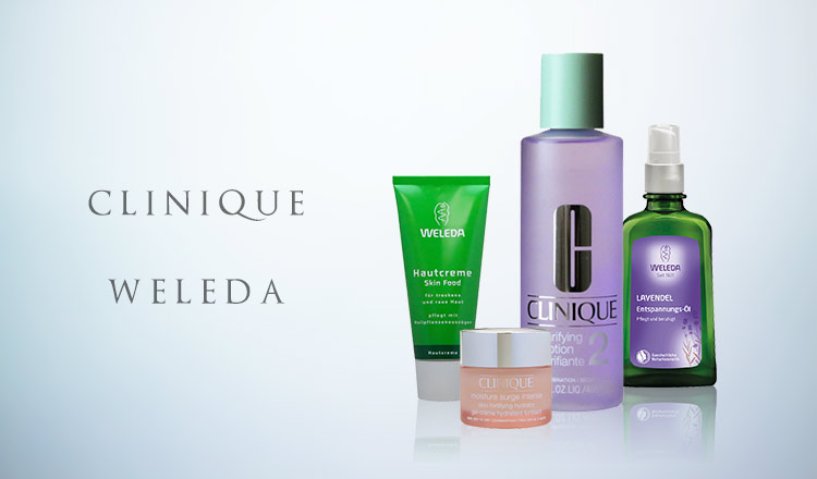 CLINIQUE/WELEDA
