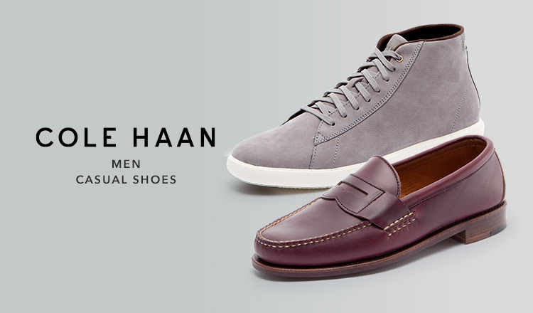 COLE HAAN MEN CASUAL SHOES