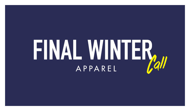 FINAL WINTER CALL-APPAREL-