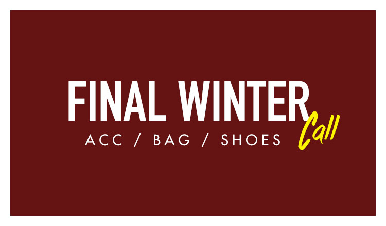 FINAL WINTER CALL-ACC & BAG & SHOES-