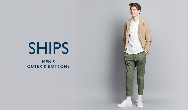 SHIPS MEN'S OUTER & BOTTOMS