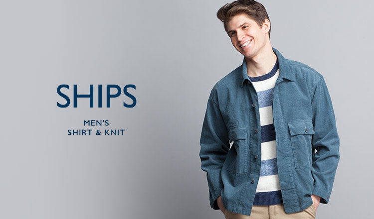 SHIPS MEN'S SHIRT & KNIT