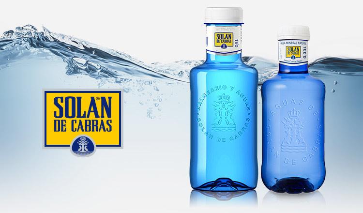 スペインのミネラルウォーター -SOLAN DE CABRAS