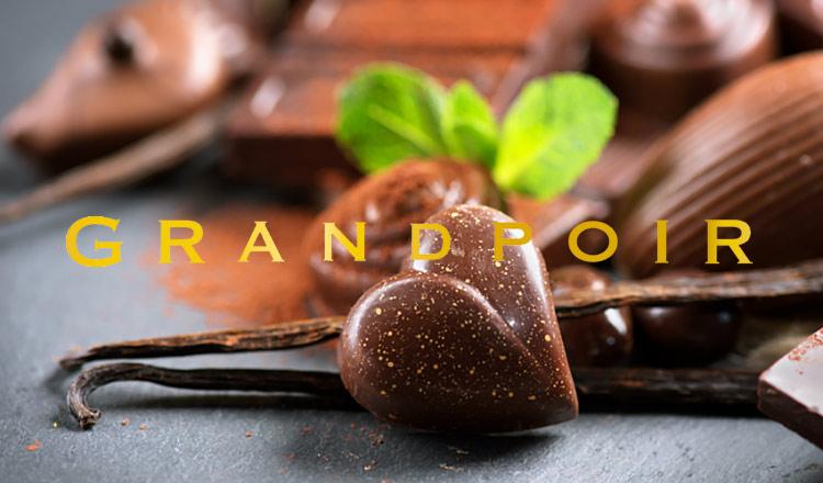 砂糖不使用・糖質カットのギルトフリーチョコ GRANDPOIR