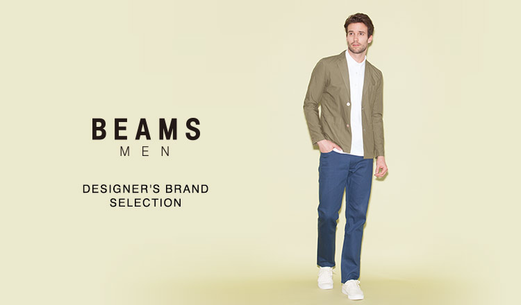 BEAMS MEN -DESIGNER'S BRAND SELECTION-