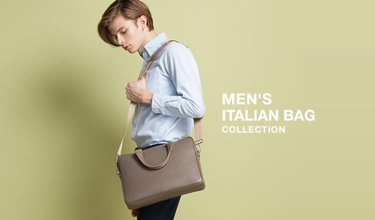 MEN'S ITALIAN BAG COLLECTION
