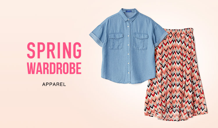 SPRING WARDROBE-APPAREL-