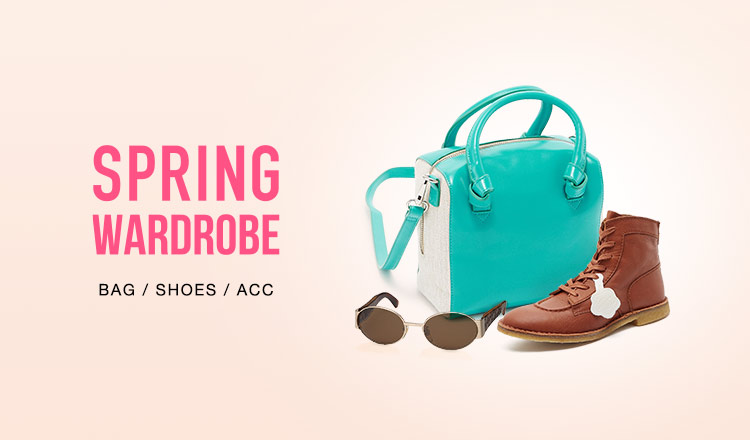 SPRING WARDROBE-BAG & SHOES & ACC-