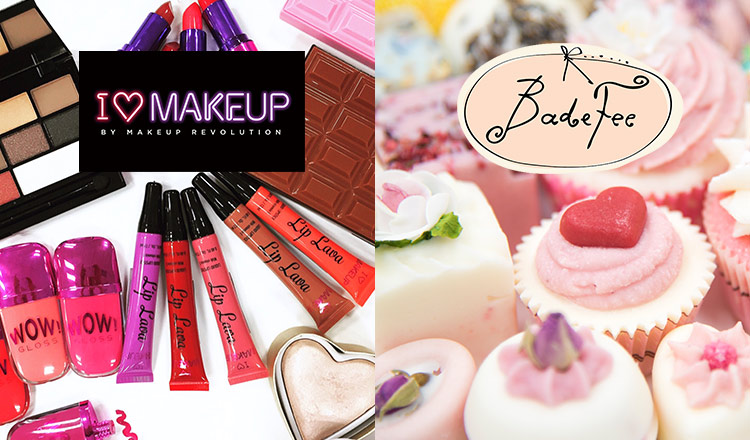 I LOVE MAKEUP BY MAKEUP REVOLUTION / BADEFEE and more
