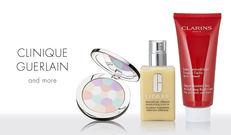 CLINIQUE/GUERLAIN and more
