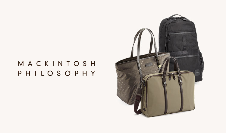 MACKINTOSH PHILOSOPHY -BAG-