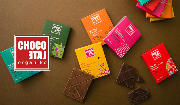 CHOCOLATE ORGANICO -スペイン発のナチュラルなチョコレート-