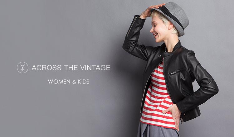 ACROSS THE VINTAGE WOMEN & KIDS